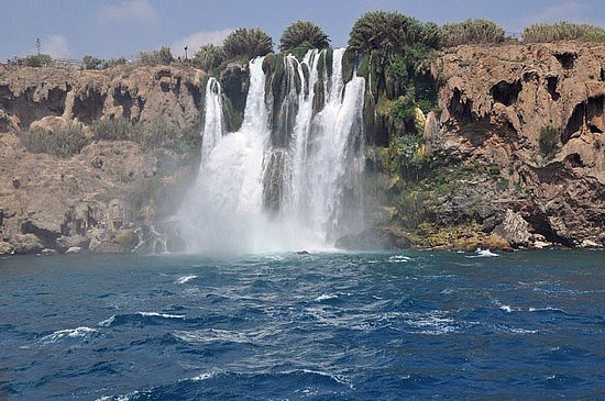 Waterfalls & Sican Island